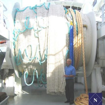 Powerful vessel needs the strongest netting