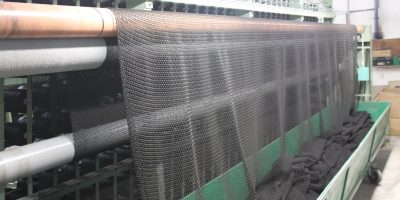 Aquaculture Dyneema net - produced bare Netmark