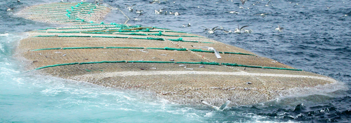 Fishing nettings by Netmark for trawling and purse seining